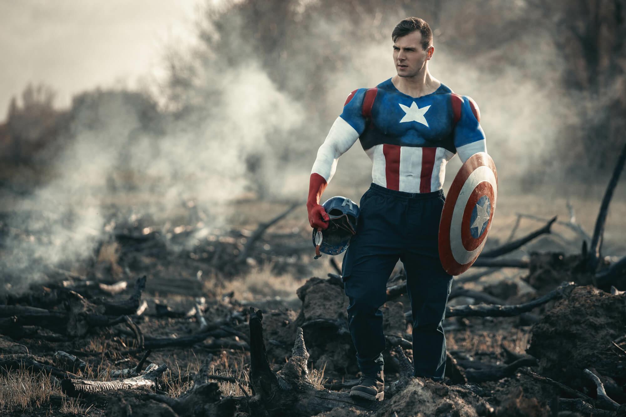 Captain America kialudta magát