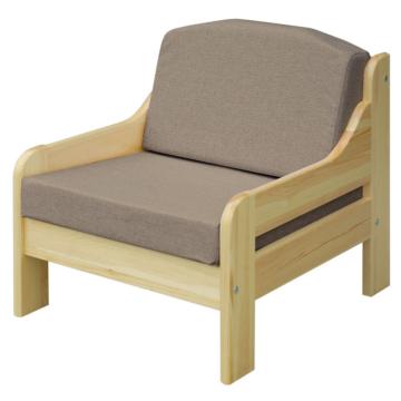 RIO szürke fenyő fotel 60x55 cm