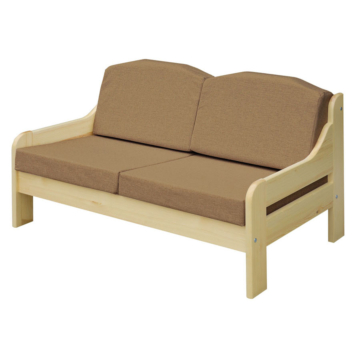 RIO cappucio fenyő 2 személyes kanapé 120x55 cm