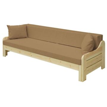 RiO fenyő nagyobbítható kanapé 200x140 cm