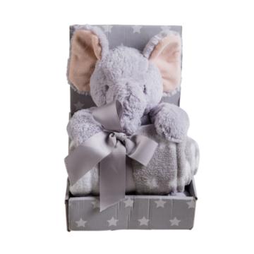 Naturtex Baby pléd - Dumbó elefánttal 75x100 cm