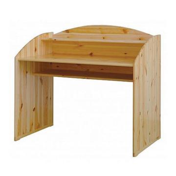 CSANÁD fenyő íróasztal 114x104/75x62 cm