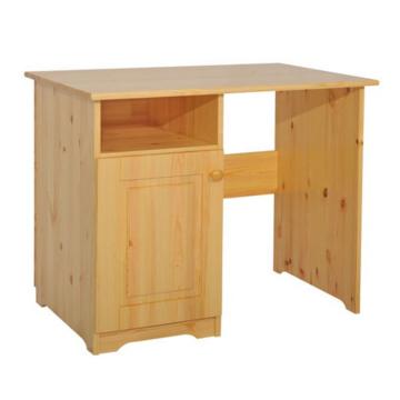 MARTIN 1 ajtós fenyő íróasztal 77x95x65 cm