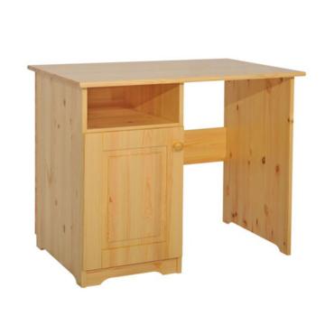 MARTIN 1 ajtós fenyő iróasztal 77x110x65 cm