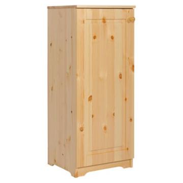 PETRA 1 ajtós balos fenyő komód 110x46x40 cm