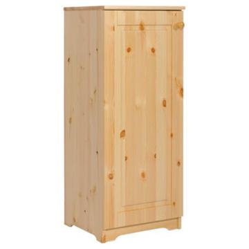 PETRA 1 ajtós jobbos fenyő komód 110x46x40 cm