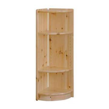 VIKING fenyő polc 006-os záróelem 30x95x30 cm