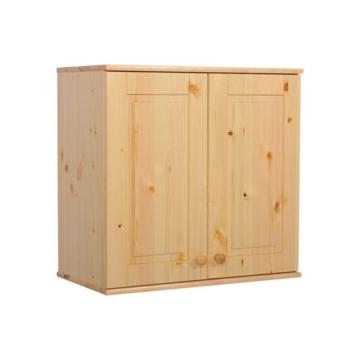 BALÁZS 2 ajtós fenyő szekrény tetőelem 72x74x40 cm