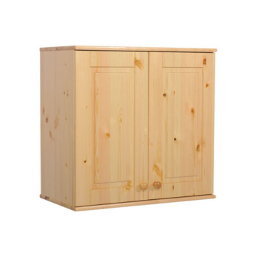 BALÁZS 2 ajtós fenyő szekrény tetőelem 72x81x60 cm