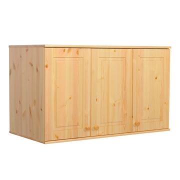 BALÁZS 3 ajtós fenyő szekrény tetőelem 72x120x60 cm