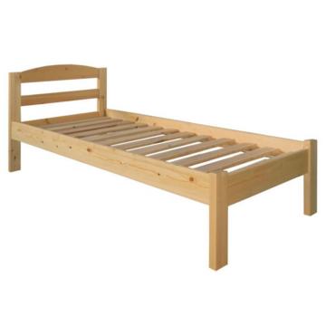 ZÉNÓ fenyő ágyváz + borda alacsony lábvéggel 90X200 cm